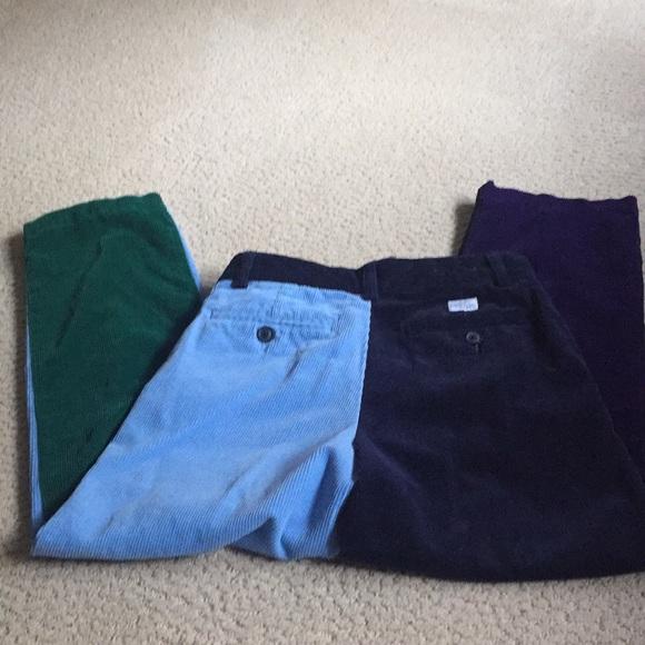 14e186ff8193bc Vineyard Vines Bottoms   4 Panel Corduroy Pants Boys Size 8   Poshmark